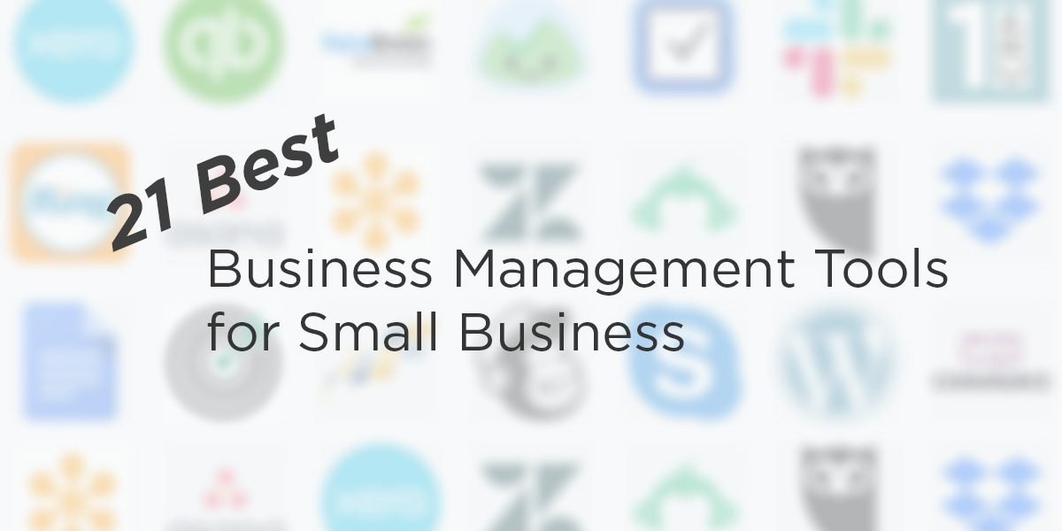 21 Best Business Management Tools for Small Business - 1CRM