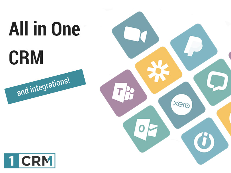 all in one CRM and integrations